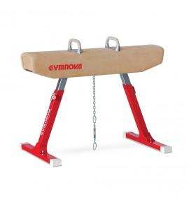 COMPETITION POMMEL HORSE - GENUINE LEATHER COVERED BODY - FIG Approved