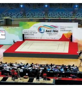 CANCUN COMPETITION AEROBIC FLOOR - 12 x 12 m - FIG Approved