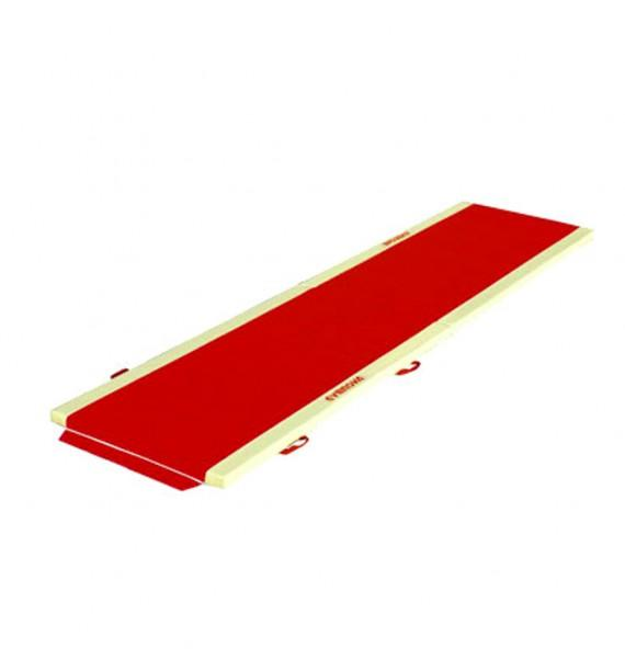 FOLDING TUMBLING TRACK - WITH SIDE ATTACHMENT STRIPS - 400 x 100 x 5 cm