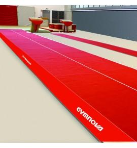 ACROBATIC SPRUNG TRACK WITH ROLL-UP TRACK - 13.50 x 2 m (*)
