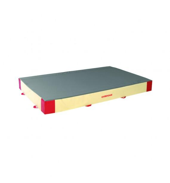 ADDITIONAL SAFETY MAT - SINGLE DENSITY - PVC AND JERSEY COVER - 300 x 200 x 30 cm