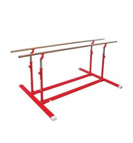 COMPACT PARALLEL BARS WITH FIXED LEGS