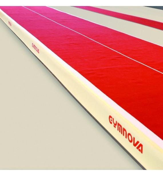 ACROBATIC TRACK ACROFLEX WITH ADJUSTABLE ELASTICITY - 6 x 2 M - WITH PIT JUNCTION