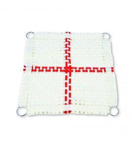 13 x 13 mm NYLON MESH BED FOR SUPER SPRING TRAMPETTE