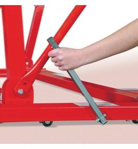 TRANSPORT TROLLEYS FOR FREESTANDING ASYMMETRIC AND PARALLEL BARS
