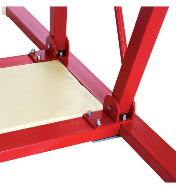 CENTRAL BEVELLED UNDERLAY FOR FREESTANDING ASYMMETRIC AND PARALLEL BARS