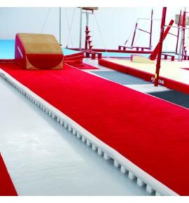 ACROBATIC TRACK - FOAM AND CARPET TRACK - 1.50 x 2 m - WITHOUT PIT JUNCTION (*)