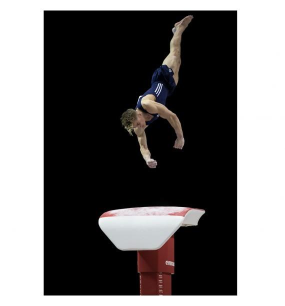 MONTREAL PEDESTAL BASE COMPETITION VAULTING TABLE - FIG Approved