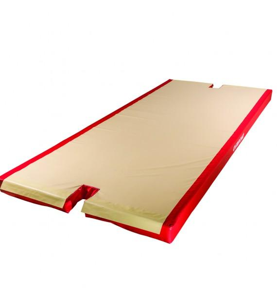 CUSTOM LANDING MAT FOR BEAM - WITH BASE CUT-OUTS - 450 x 200 x 20 cm