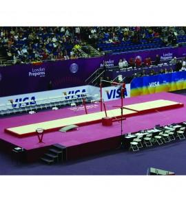 SET OF LANDING MATS FOR COMPETITION ASYMMETRIC BARS - 28 m²