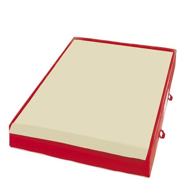 TRADITIONAL LANDING MAT FOR RINGS - BEAM - ASYMMETRIC, PARALLEL AND HIGH BARS - WITH BIB ACROSS WIDTH - 200 x 200 x 20 cm
