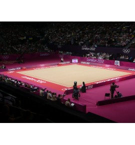 LONDON COMPLETE RHYTHMIC GYMNASTICS COMPETITION FLOOR - FIG APPROVED