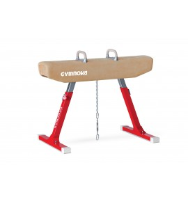 COMPETITION POMMEL HORSE - LEATHERETTE COVERED BODY