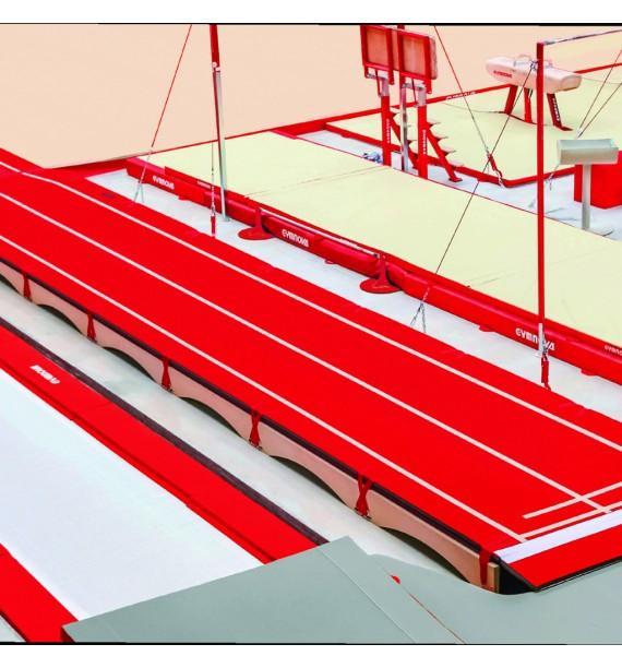 COMPLETE TUMBLING TRACK NOVATRACK'ONE - FIG Approved