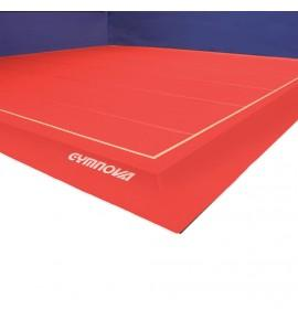EXERCISE FLOOR ROLL-UP TRACKS ONLY - 14 x 14 m 35mm Thickness