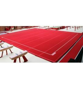 """MONTREAL COMPETITION SPRING EXERCISE FLOOR """"EVOLUTION"""" WITH ROLL-UP TRACKS (SPRINGS NOT ASSEMBLED) - 14 x 14 m (*)"""