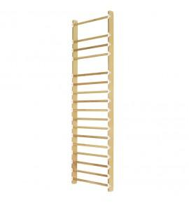 SOLID WOOD WALL BAR - 1 PERSON SET - LENGTH 83 cm (*)