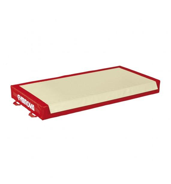 TRADITIONAL LANDING MAT FOR RINGS - BEAM - ASYMMETRIC, PARALLEL AND HIGH BARS - WITH BIB DOWN LENGTH - 100 x 200 x 20 cm