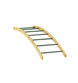 LARGE CURVED LADDER - 190 x 55 cm