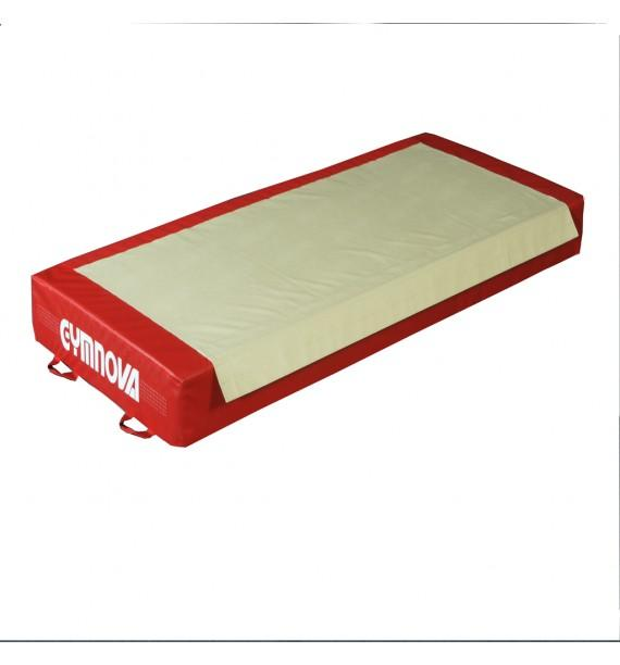 TRADITIONAL LANDING MAT FOR RINGS - BEAM - ASYMMETRIC, PARALLEL AND HIGH BARS - WITH BIB ON THE SIDE - 100 x 230 x 20 cm