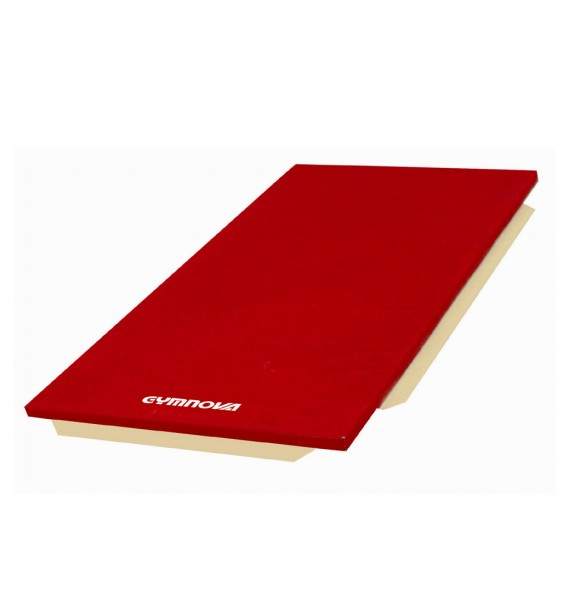 MAT FOR SCHOOL - PVC COVER - WITH ATTACHMENT STRIPS - WITHOUT REINFORCED CORNERS - 200 x 100 x 4 cm