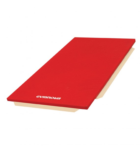 MAT FOR SCHOOL - PVC COVER - WITH ATTACHMENT STRIPS - WITHOUT REINFORCED CORNERS - 200 x 100 x 5 cm