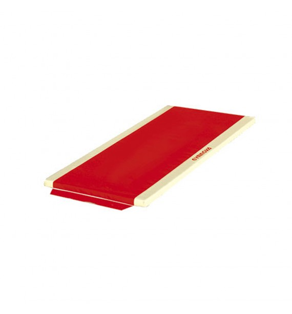 MAT FOR SCHOOL - PVC COVER - WITH SIDE ATTACHMENT STRIPS - WITHOUT REINFORCED CORNERS - 200 x 100 x 5 cm