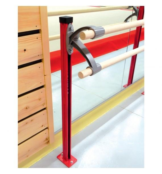 BALLET BARRE SUPPORT - WITH DOUBLE BRACKET (*)