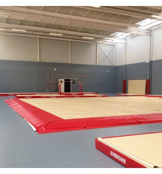 EXERCISE FLOOR OVERLAY TARPAULIN IN SMOOTH PVC - 14 x 14 m (OCCASION)