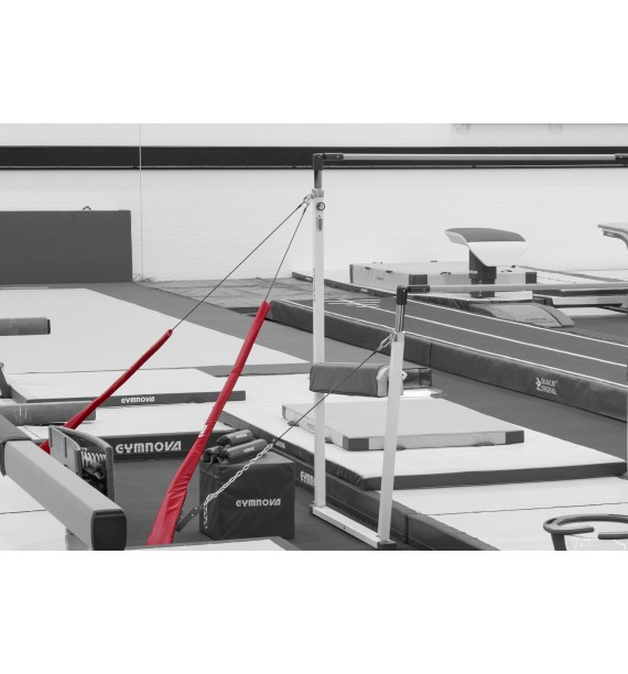 ASYMMETRIC BARS CABLE GUARDS - Set of 6