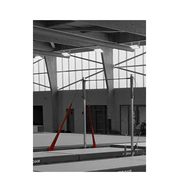 CABLE AND TIGHTENERS GUARDS FOR HIGH BARS AND SPOTTING FRAMES - Set of 4