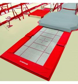 LARGE BUILT-IN TRAMPOLINE ONLY - 426 x 213 cm (*)