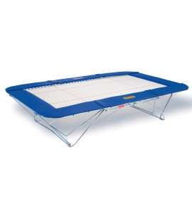GRAND MASTER TRAMPOLINE - 45 x 45 mm BED - LIFTING ROLLER STANDS