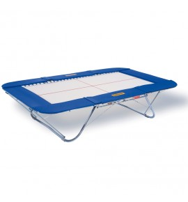 MASTER TRAMPOLINE - SYNTHETIC BED - LIFTING ROLLER STANDS