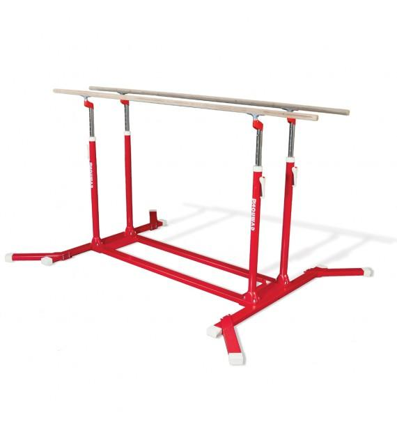 COMPETITION PARALLEL BARS WITH REINFORCED FRAME & HAND-RAILS - FIG Approved (OCCASION)