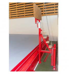 ACCESS AND SPOTTING PLATFORM FOR NEW GENERATION RAISED LANDING PIT ref. 7097