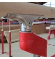 PAIR OF REINFORCED HAND-RAILS FOR PARALLEL BARS