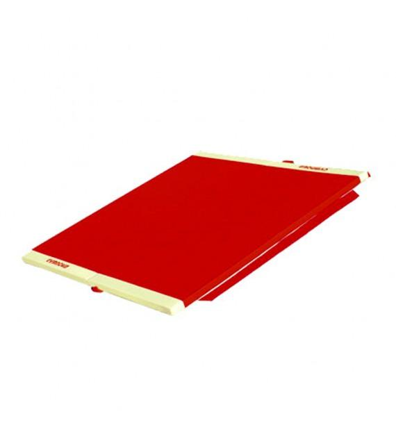 FOLDING TUMBLING TRACK - WITH SIDE ATTACHMENT STRIPS - 200 x 200 x 5 cm