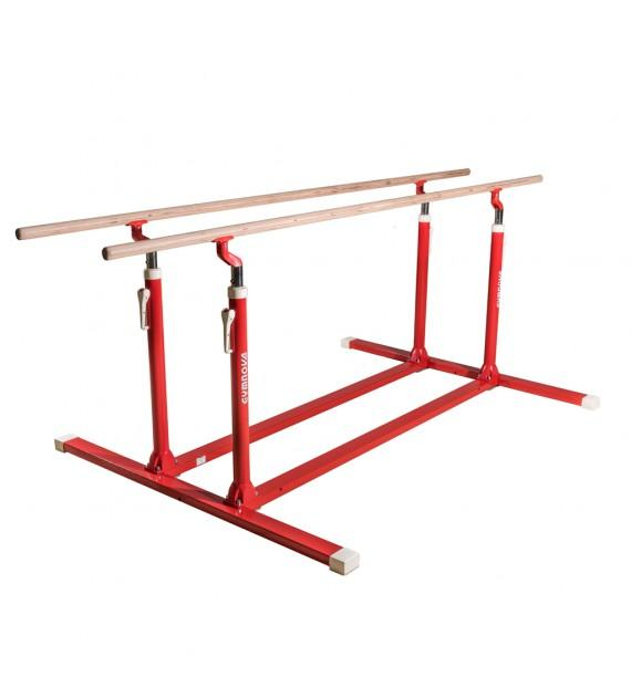TRAINING PARALLEL BARS WITH FIXED LEGS