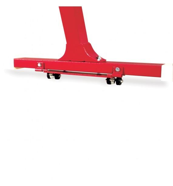 DISPLACEMENT TROLLEYS FOR STANDARD BEAMS, POMMEL HORSES AND VAULTING TABLES LEGS - Pair