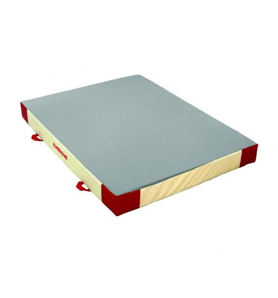ADDITIONAL SAFETY MAT - SINGLE DENSITY - PVC AND JERSEY COVER - 200 x 150 x 20 cm